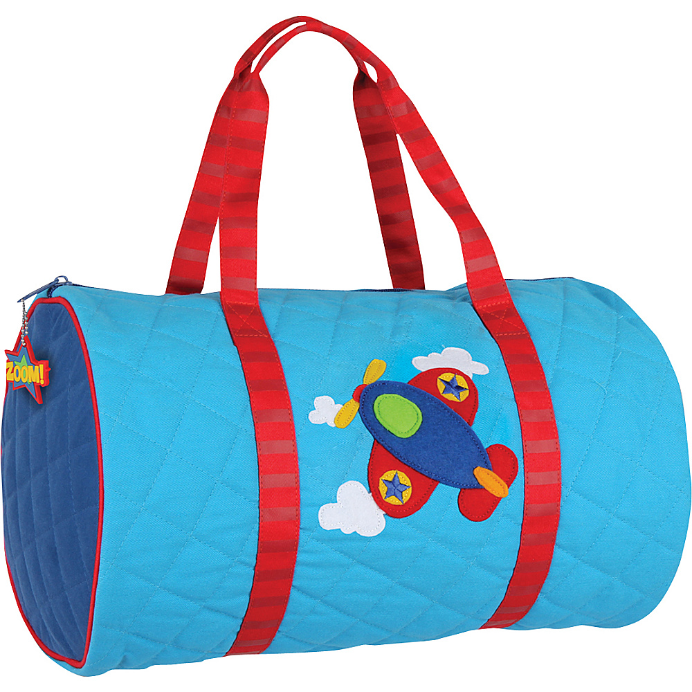 Stephen Joseph Kids Quilted Duffel Airplane - Stephen Joseph Travel Duffels - Duffels, Travel Duffels