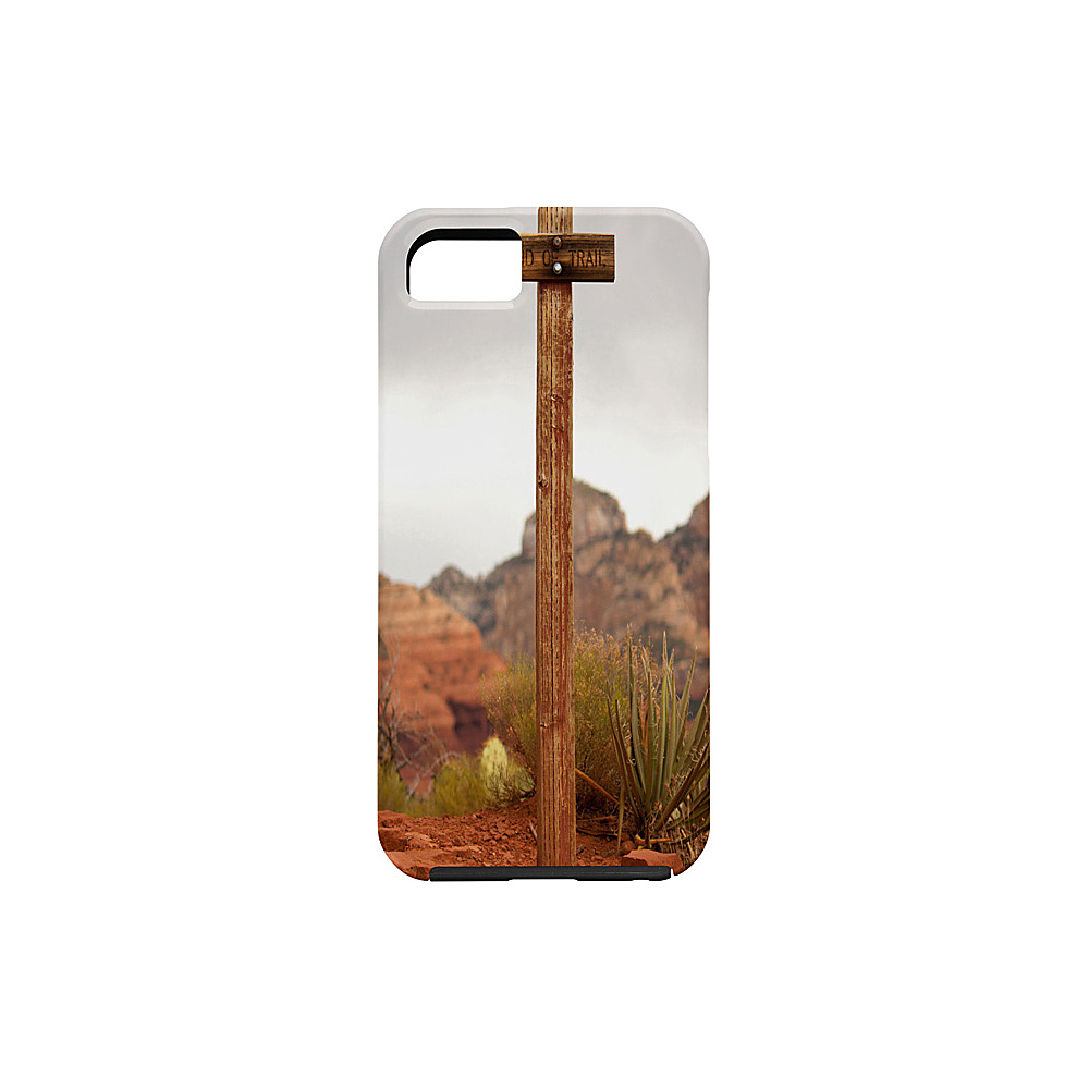 DENY Designs Barbara Sherman iPhone 5 5s Case Trail Orange End of Trail DENY Designs Electronic Cases