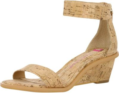Elaine Turner Zahara Cork Wedge 6 - Cork - Elaine Turner Women's Footwear