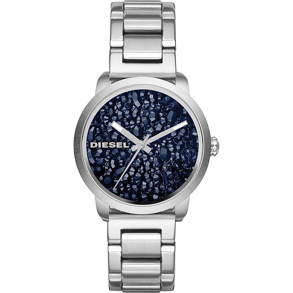 Diesel Watches Flare Series Stainless Steel Watch Silver - Diesel Watches Watches