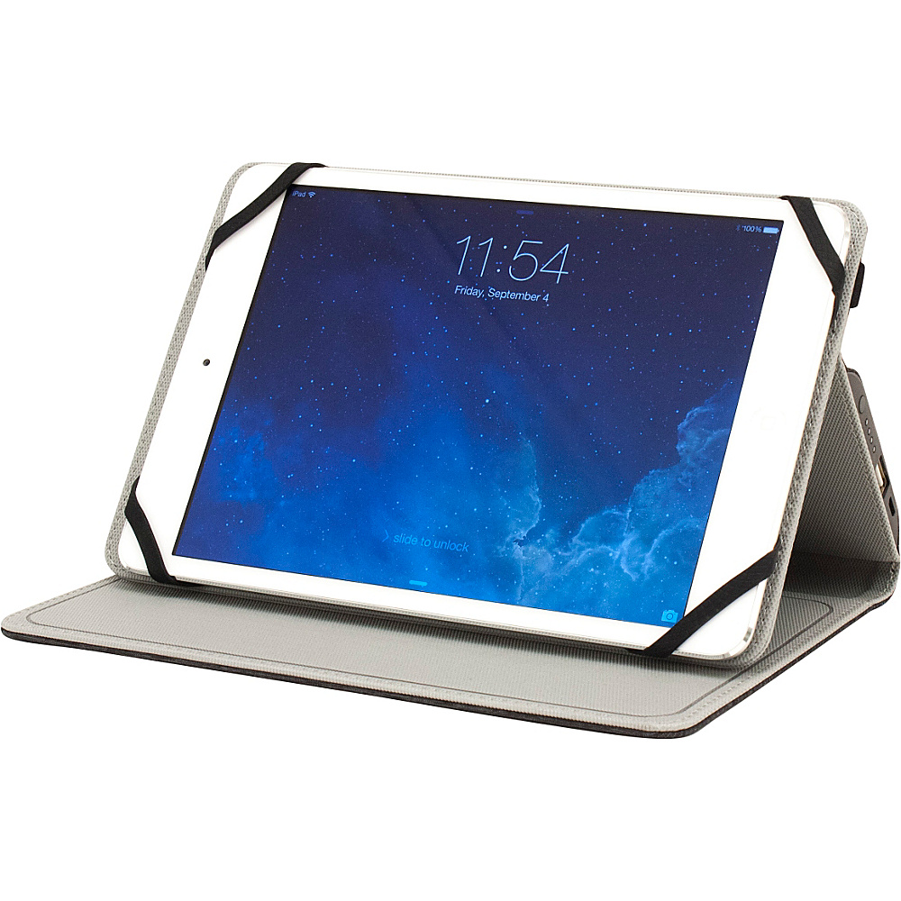 M Edge Folio Power for 7 8 Devices Heathered Grey M Edge Electronic Cases