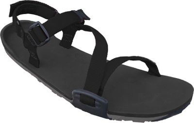 Xero Shoes Umara Z-Trail  Womens Ultimate Trail-Friendly Sandal 8 - Coal Black / Charcoal / Black - Xero Shoes Women's Footwear