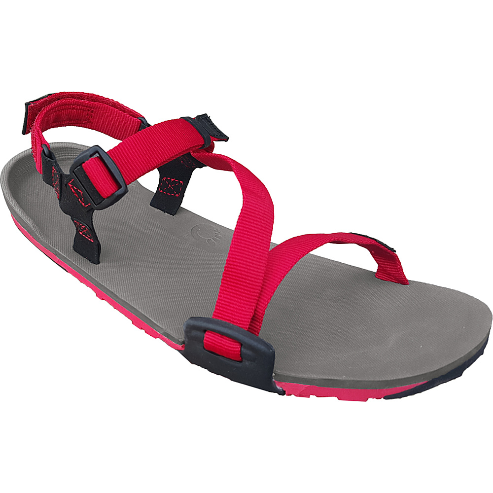 Xero Shoes Umara Z Trail Womens Ultimate Trail Friendly Sandal 5 Coal Black Charcoal Red Pepper Xero Shoes Women s Footwear