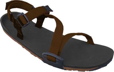 Xero Shoes Umara Z-Trail  Womens Ultimate Trail-Friendly Sandal 5 - Coal Black / Coffee / Mocha - Xero Shoes Women's Footwear