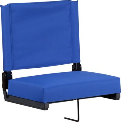 Flash Furniture Game Day Seats by Flash with Ultra-Padded Seat Blue - Flash Furniture Sports Accessories