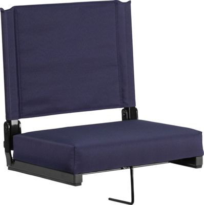 Flash Furniture Game Day Seats by Flash with Ultra-Padded Seat Navy - Flash Furniture Sports Accessories
