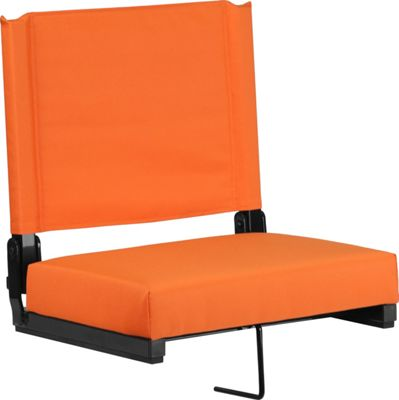 Flash Furniture Game Day Seats by Flash with Ultra-Padded Seat Orange - Flash Furniture Sports Accessories