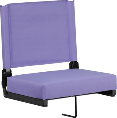 Flash Furniture Game Day Seats by Flash with Ultra-Padded Seat Purple - Flash Furniture Sports Accessories