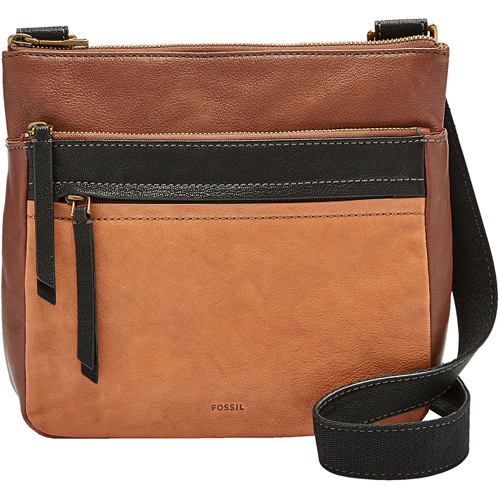 Fossil Corey Crossbody Multi Brown - Fossil Leather Handbags - Handbags, Leather Handbags