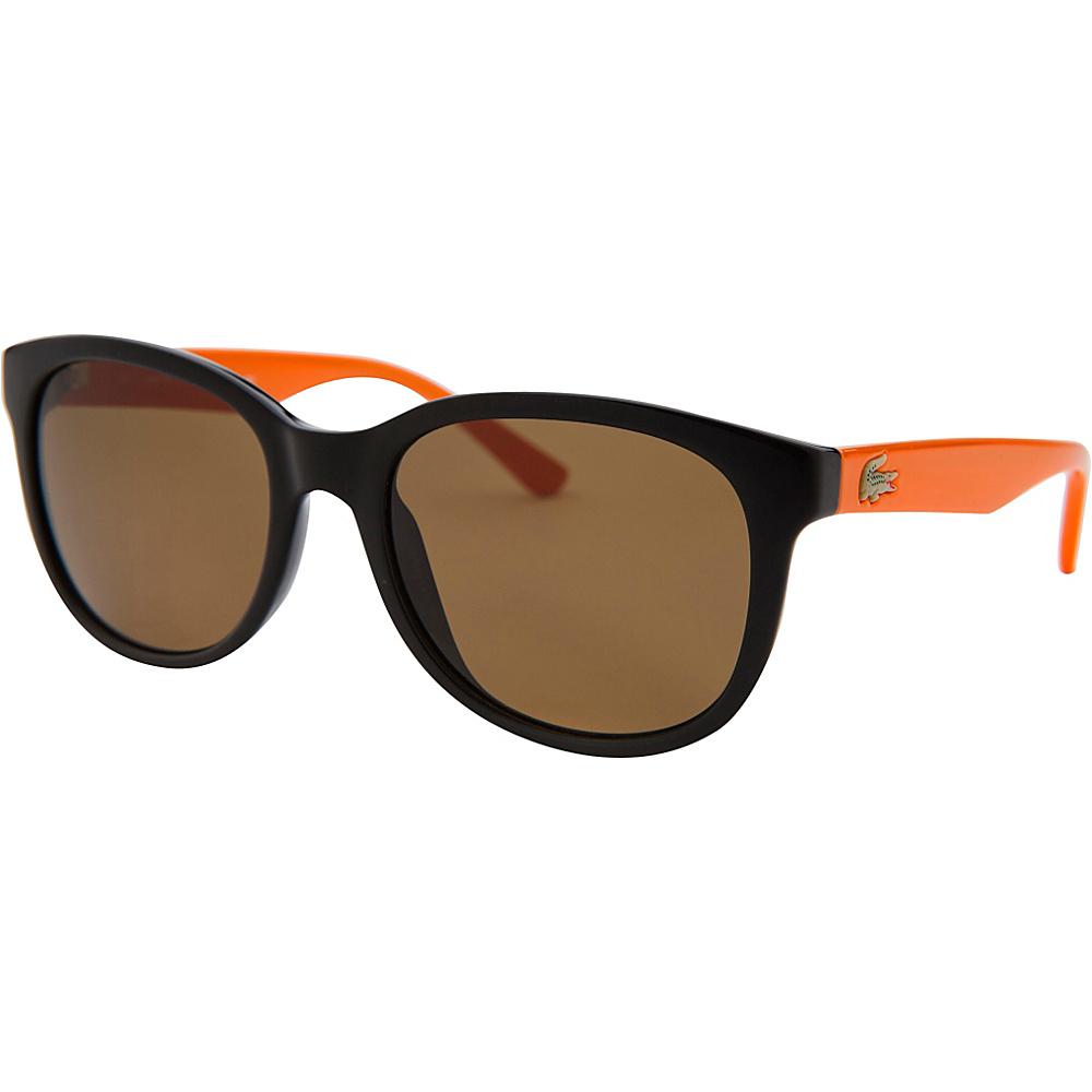 Lacoste Eyewear Square Kids Sunglasses Black - Lacoste Eyewear Sunglasses