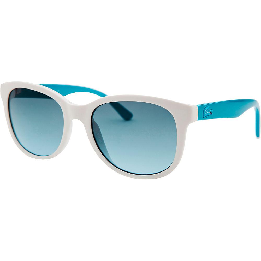 Lacoste Eyewear Square Kids Sunglasses White - Lacoste Eyewear Sunglasses