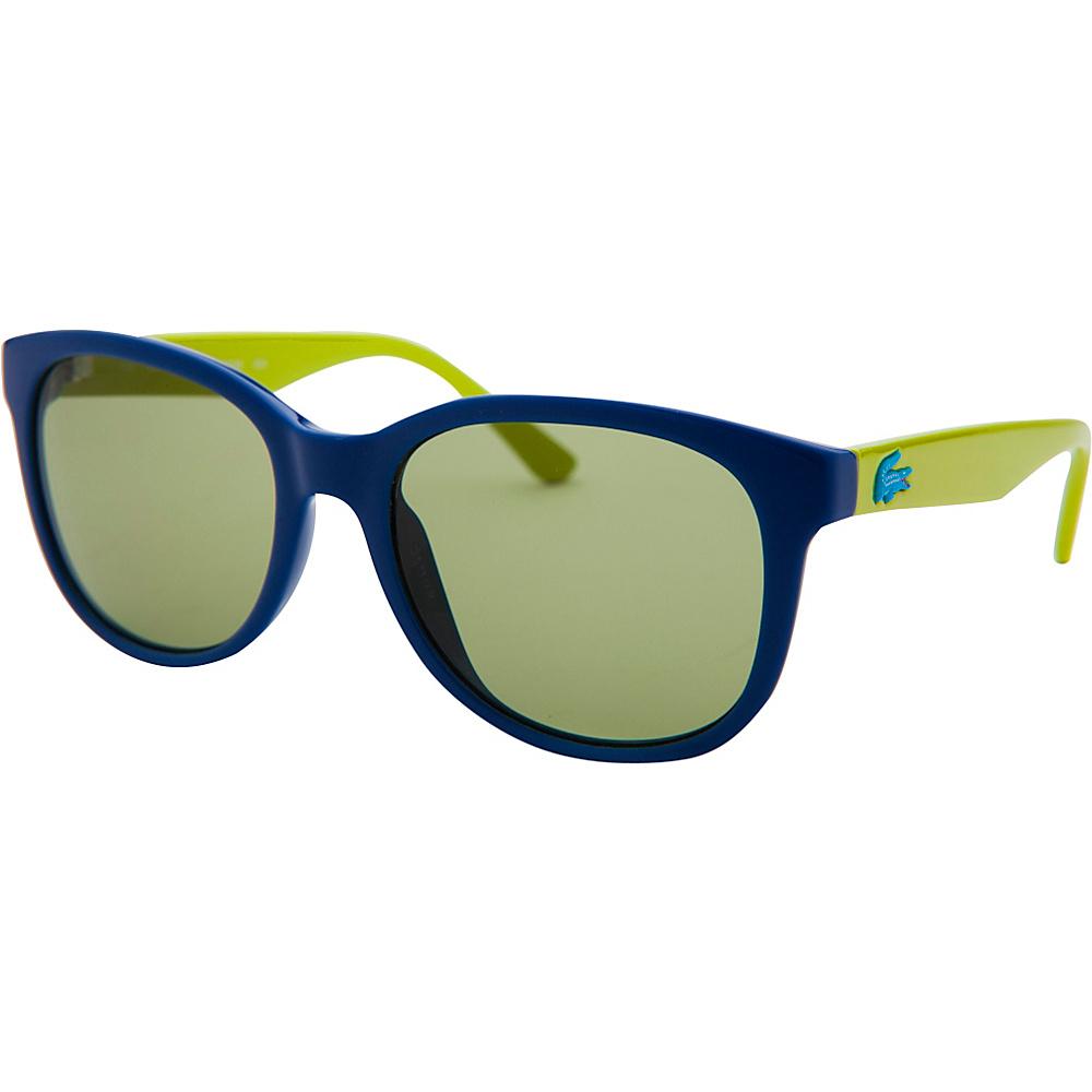 Lacoste Eyewear Square Kids Sunglasses Blue - Lacoste Eyewear Sunglasses