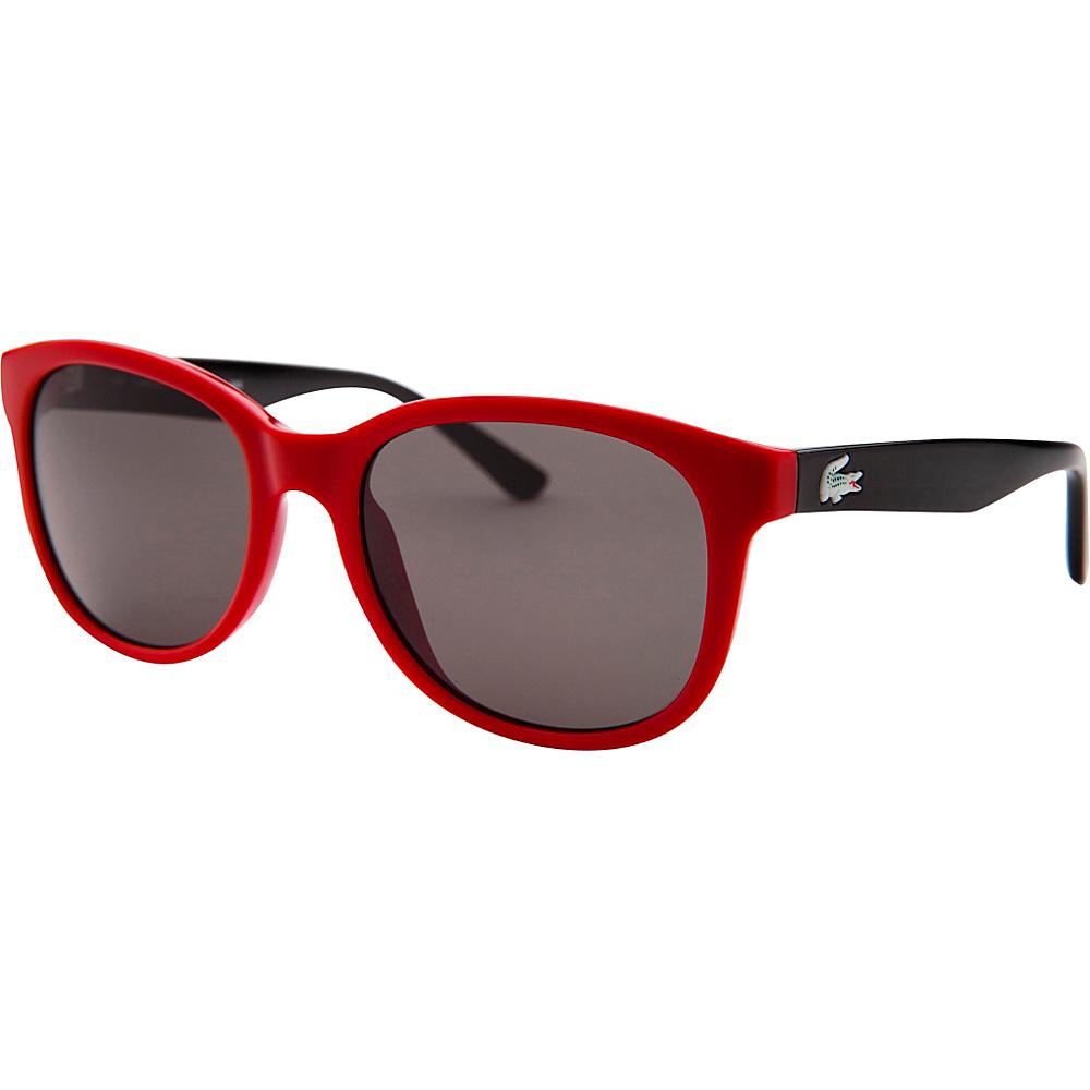 Lacoste Eyewear Square Kids Sunglasses Red - Lacoste Eyewear Sunglasses