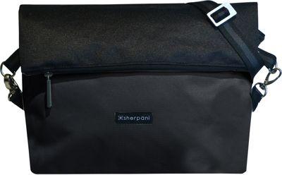 Sherpani Vale Recycled Reversible Crossbody Black - Sherpani Fabric Handbags