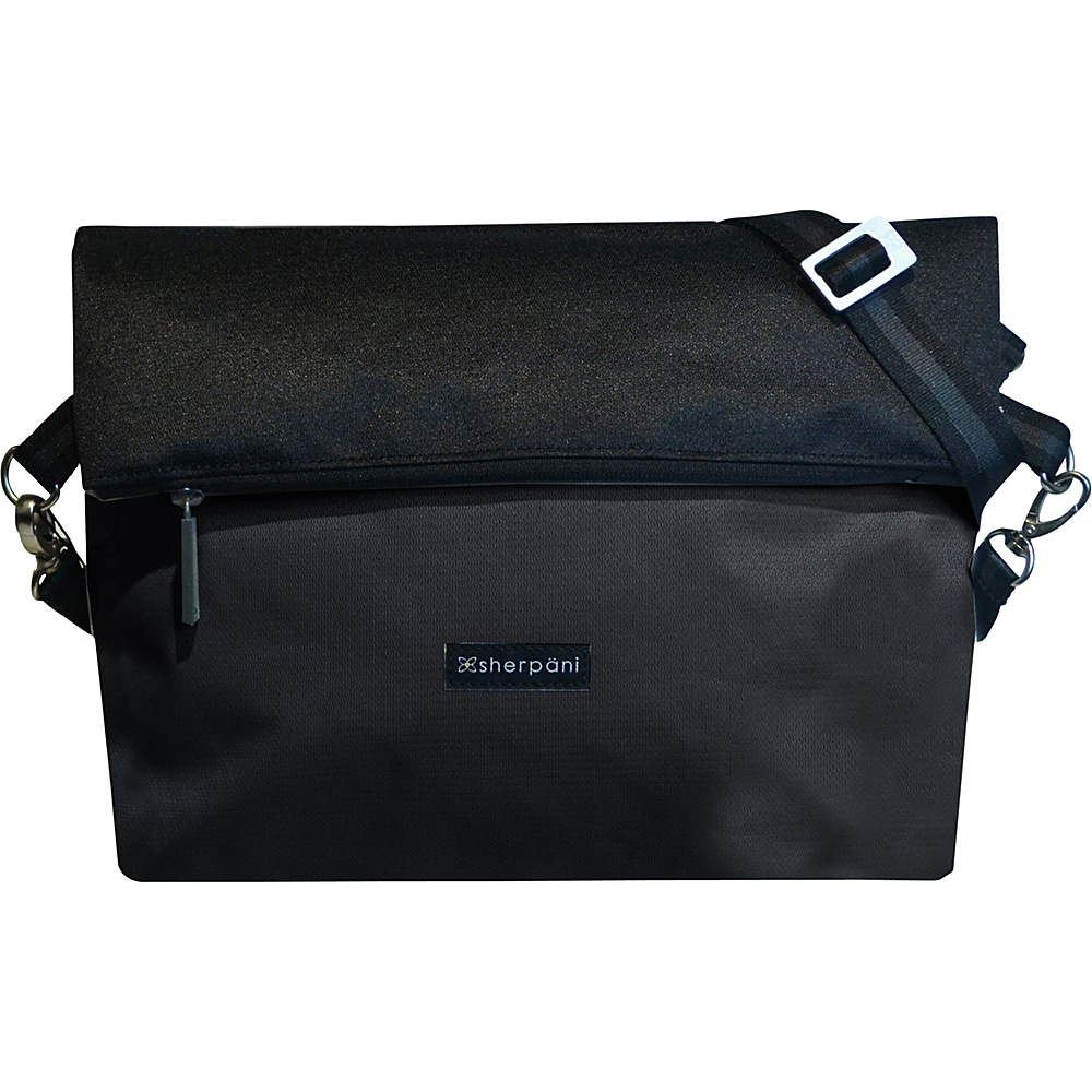 Sherpani Vale Crossbody Black Sherpani Fabric Handbags