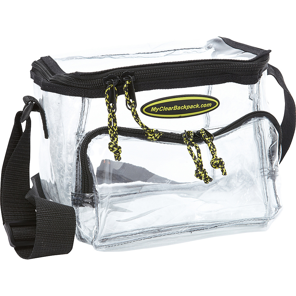 My Clear Backpack Lunch Bag - Medium Clear - My Clear Backpack Travel Coolers