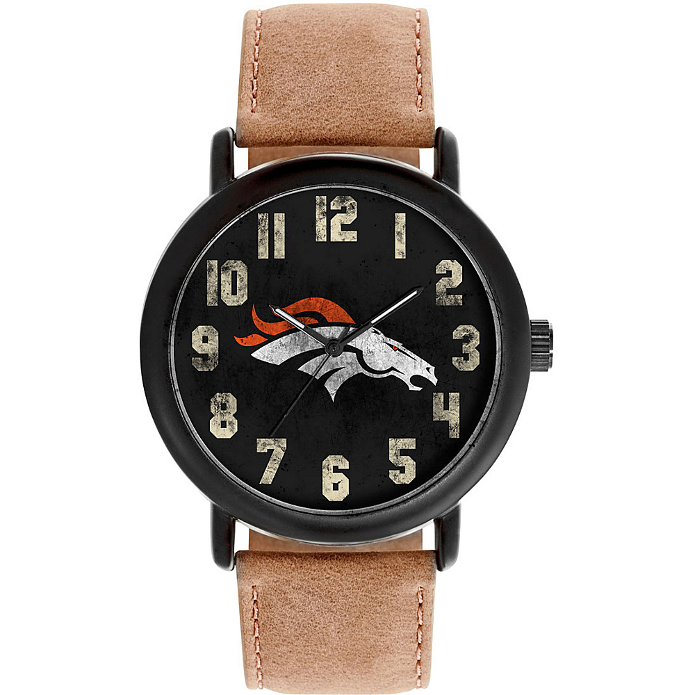 Game Time Mens Throwback-NFL Watch Denver Broncos - Game Time Watches - Fashion Accessories, Watches