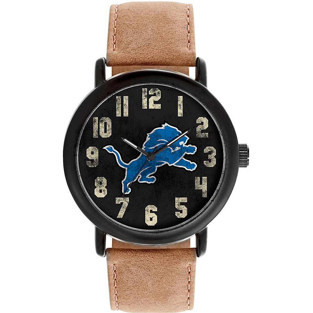 Game Time Mens Throwback-NFL Watch Detroit Lions - Game Time Watches - Fashion Accessories, Watches