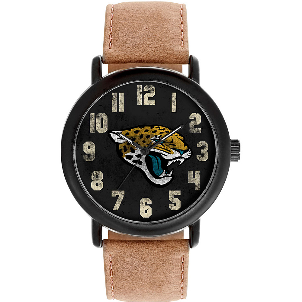 Game Time Mens Throwback-NFL Watch Jacksonville Jaguars - Game Time Watches - Fashion Accessories, Watches