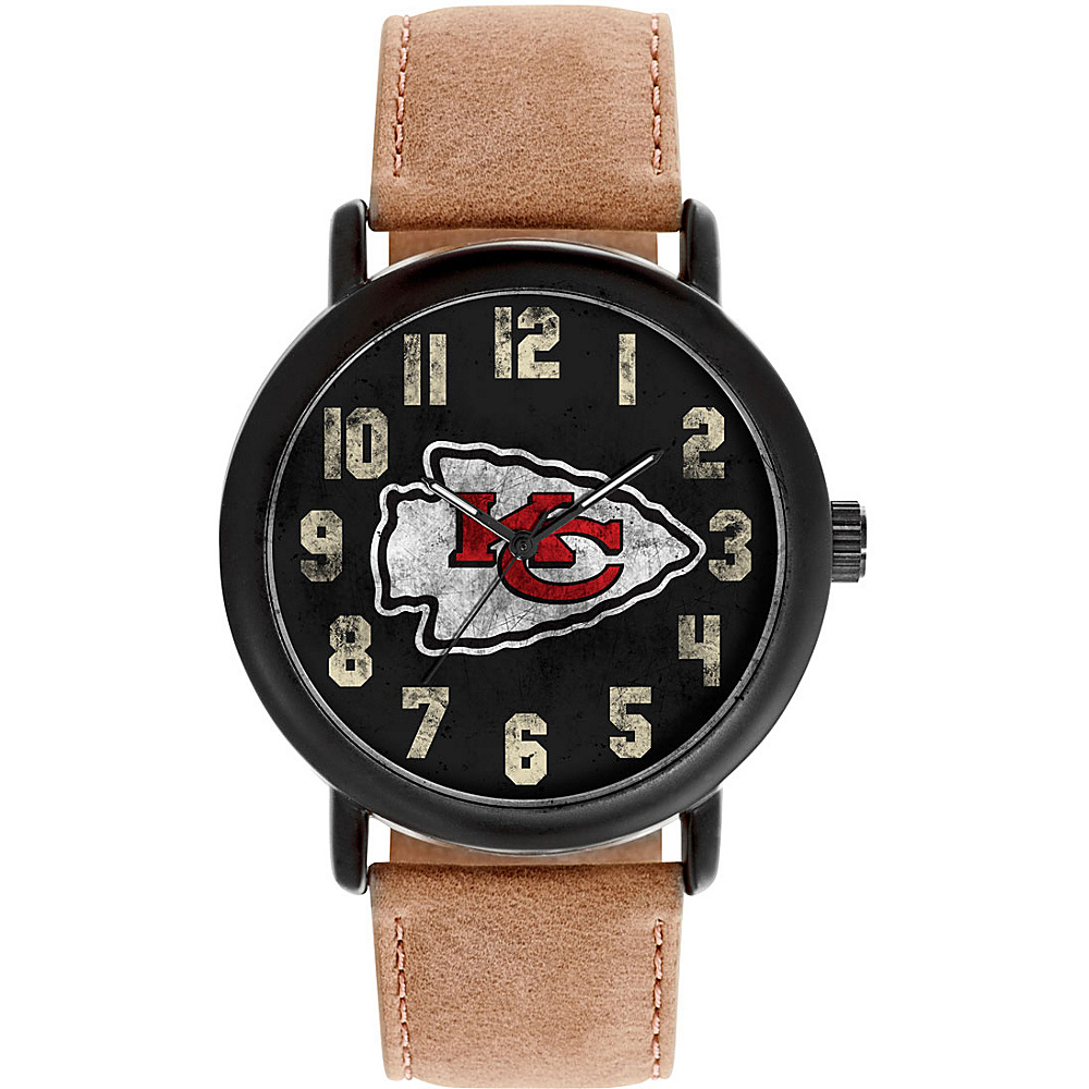 Game Time Mens Throwback-NFL Watch Kansas City Chiefs - Game Time Watches
