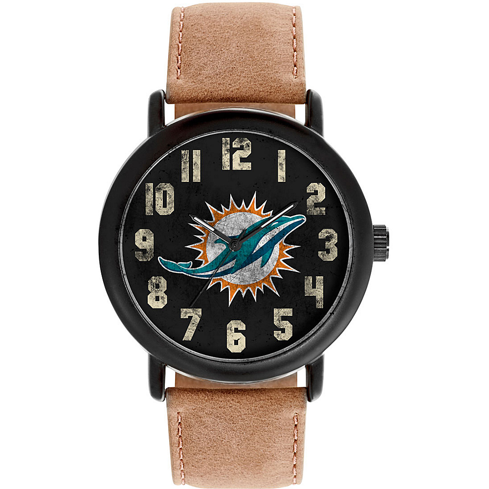 Game Time Mens Throwback-NFL Watch Miami Dolphins - Game Time Watches