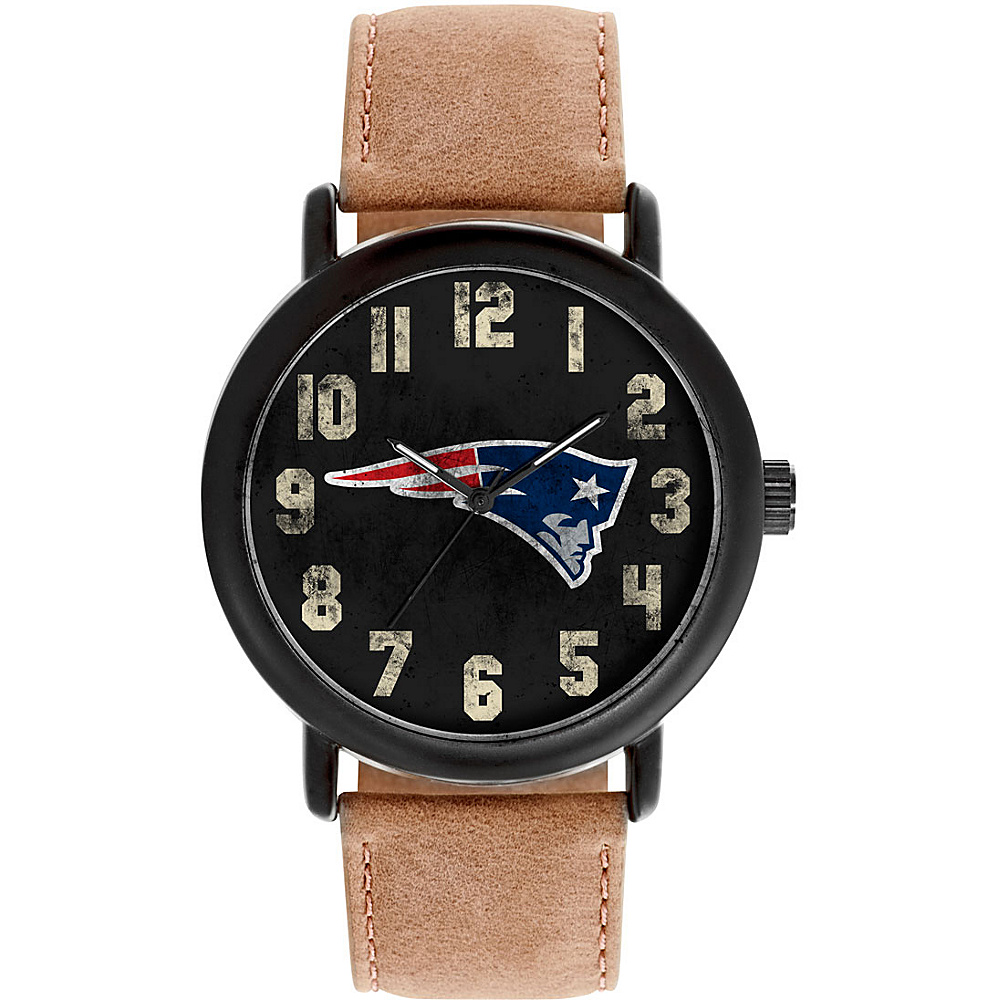 Game Time Mens Throwback-NFL Watch New England Patriots - Game Time Watches - Fashion Accessories, Watches