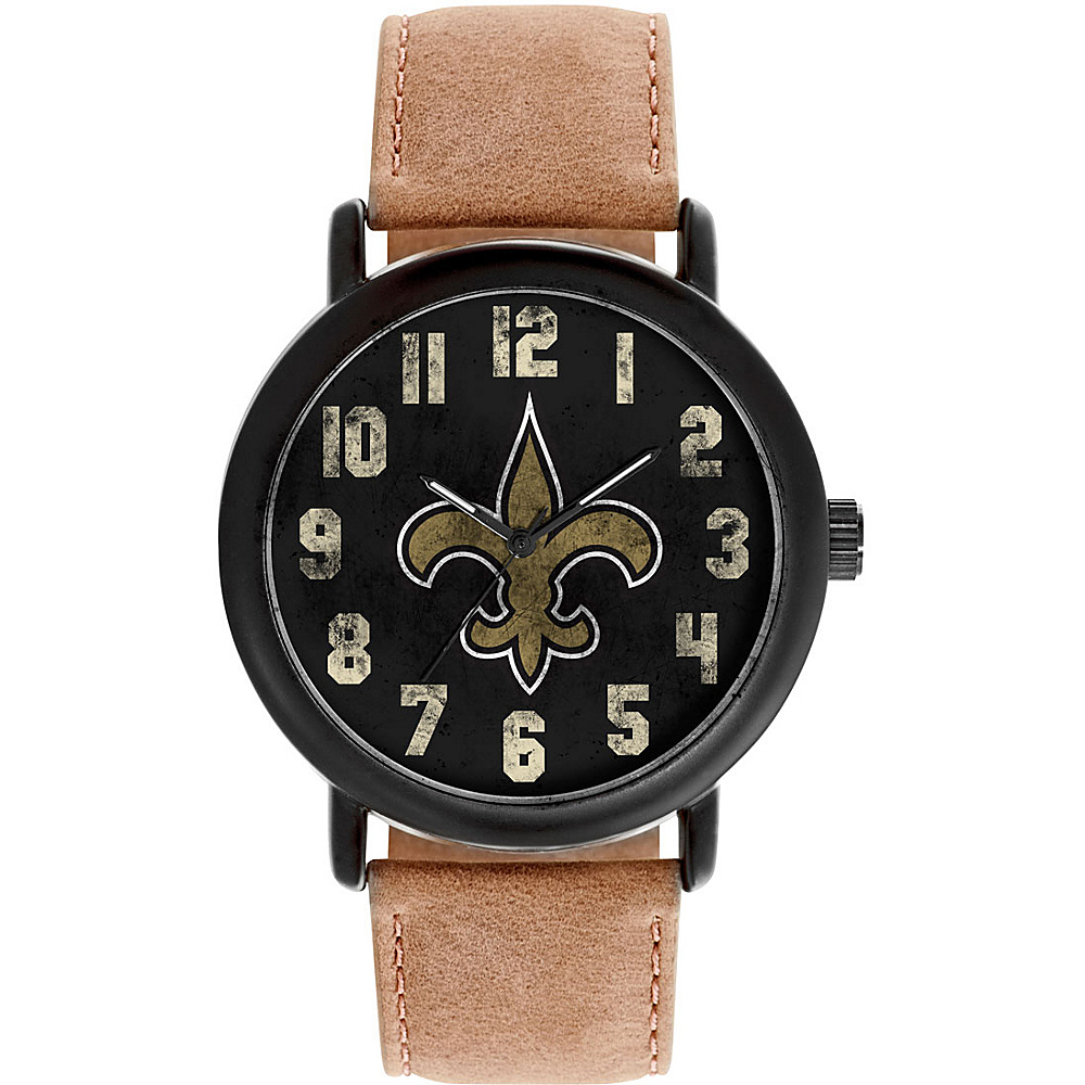 Game Time Mens Throwback-NFL Watch New Orlean Saints - Game Time Watches - Fashion Accessories, Watches