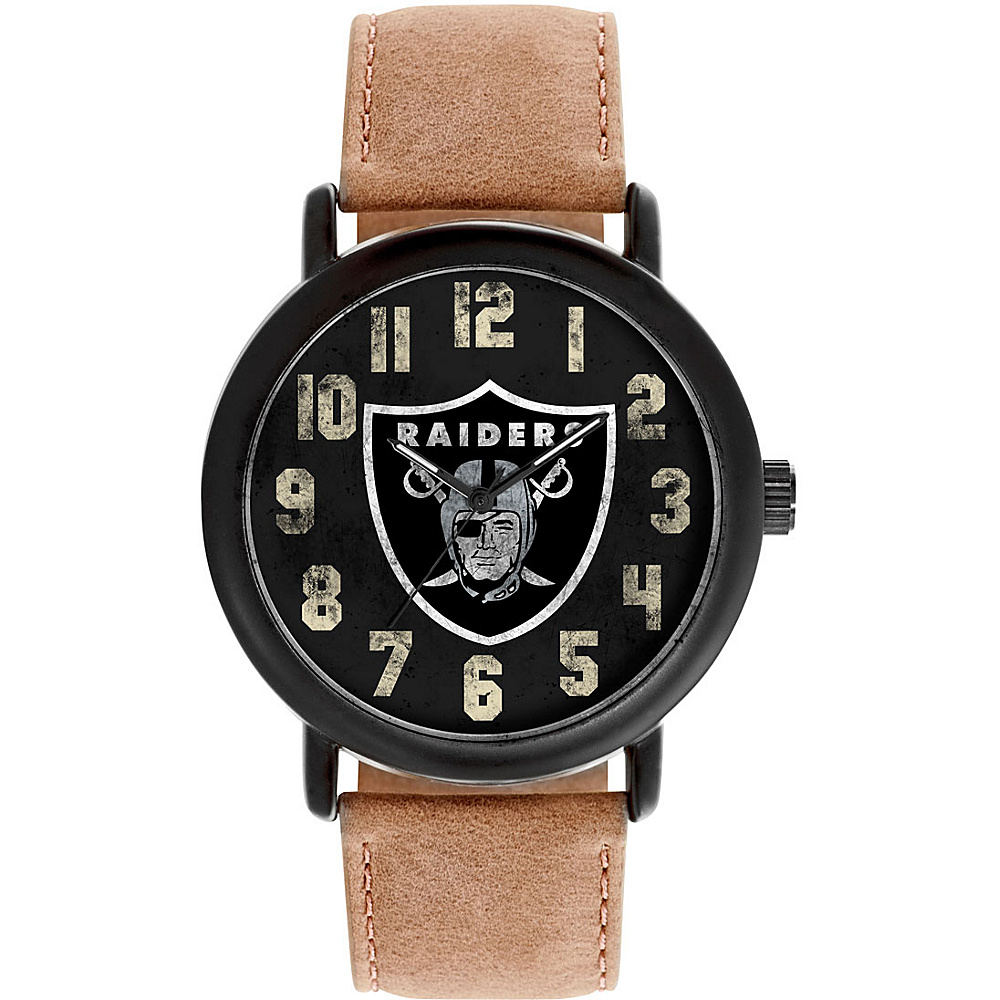 Game Time Mens Throwback-NFL Watch Oakland Raiders - Game Time Watches - Fashion Accessories, Watches