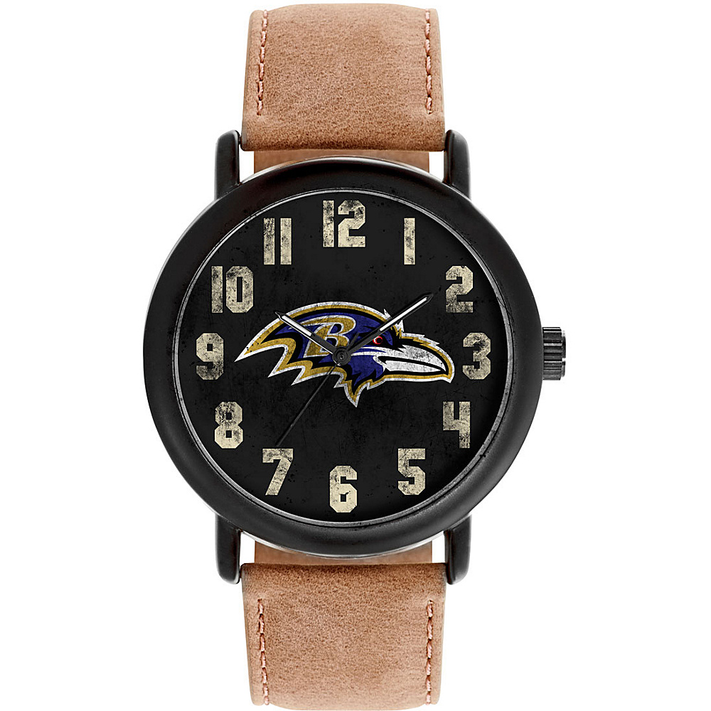 Game Time Mens Throwback-NFL Watch Baltimore Ravens - Game Time Watches - Fashion Accessories, Watches