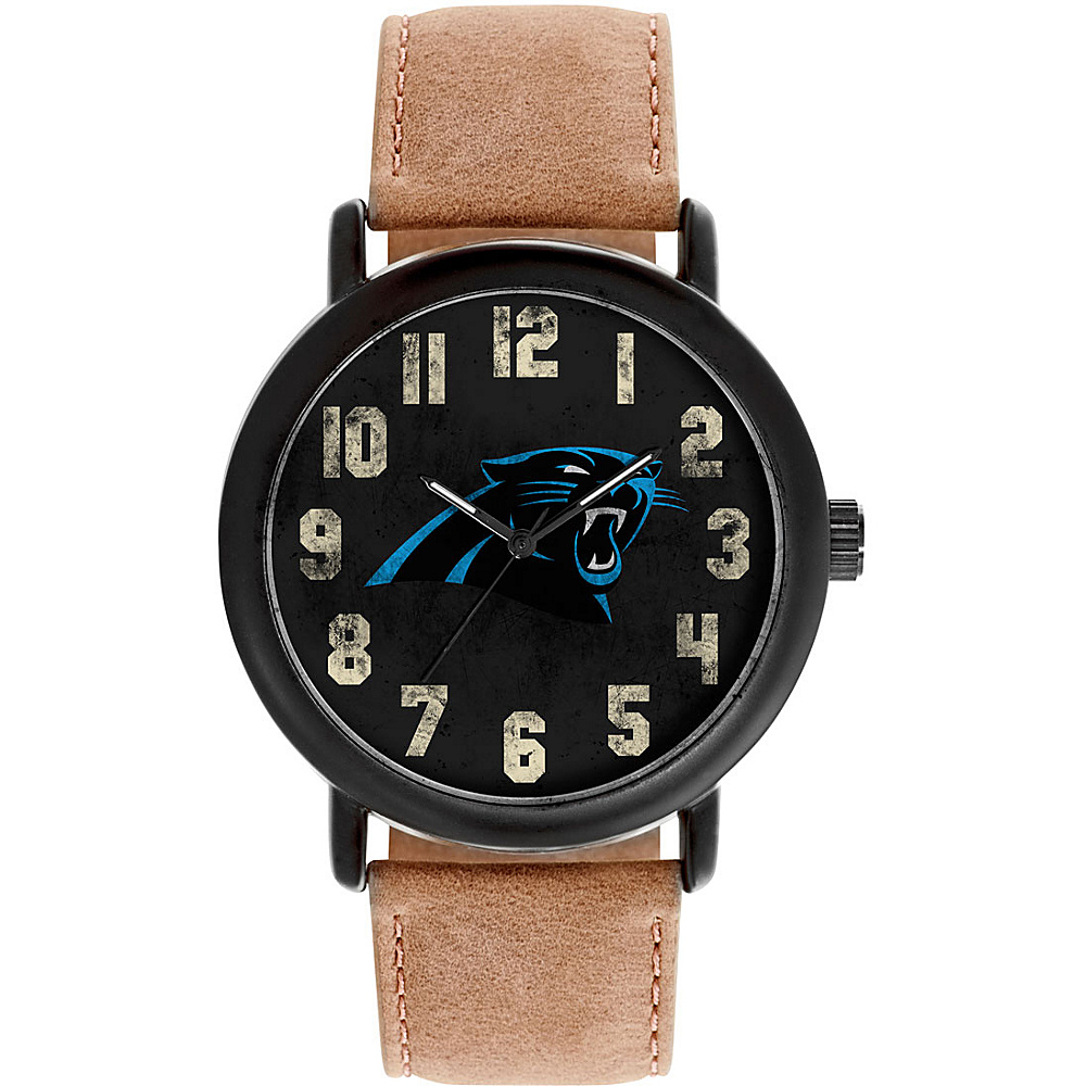 Game Time Mens Throwback-NFL Watch Carolina Panthers - Game Time Watches