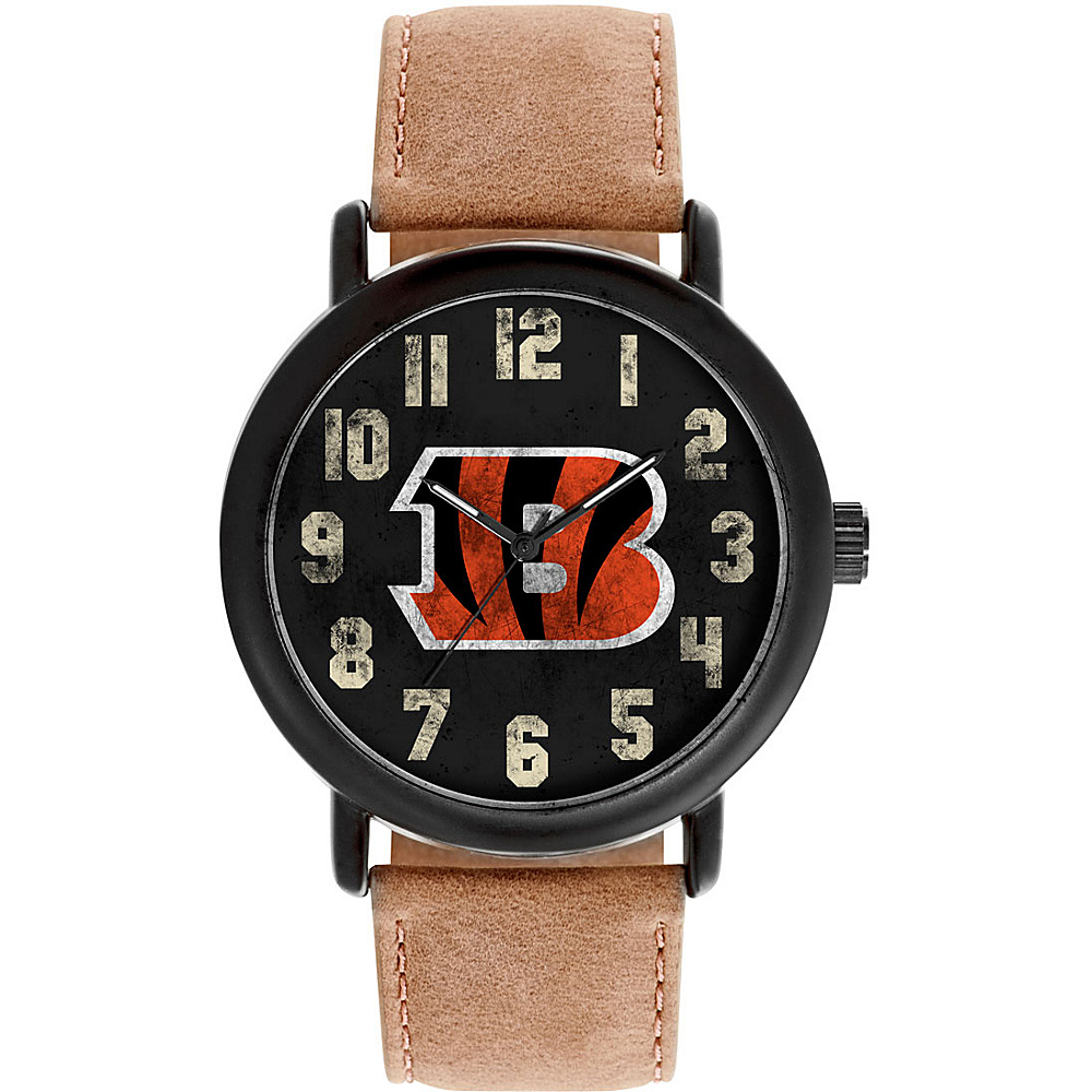 Game Time Mens Throwback-NFL Watch Cincinnati Bengals - Game Time Watches