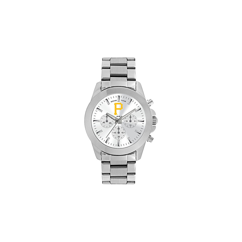 Game Time Womens Knockout-MLB Watch Pittsburgh Pirates P Logo - Game Time Watches - Fashion Accessories, Watches