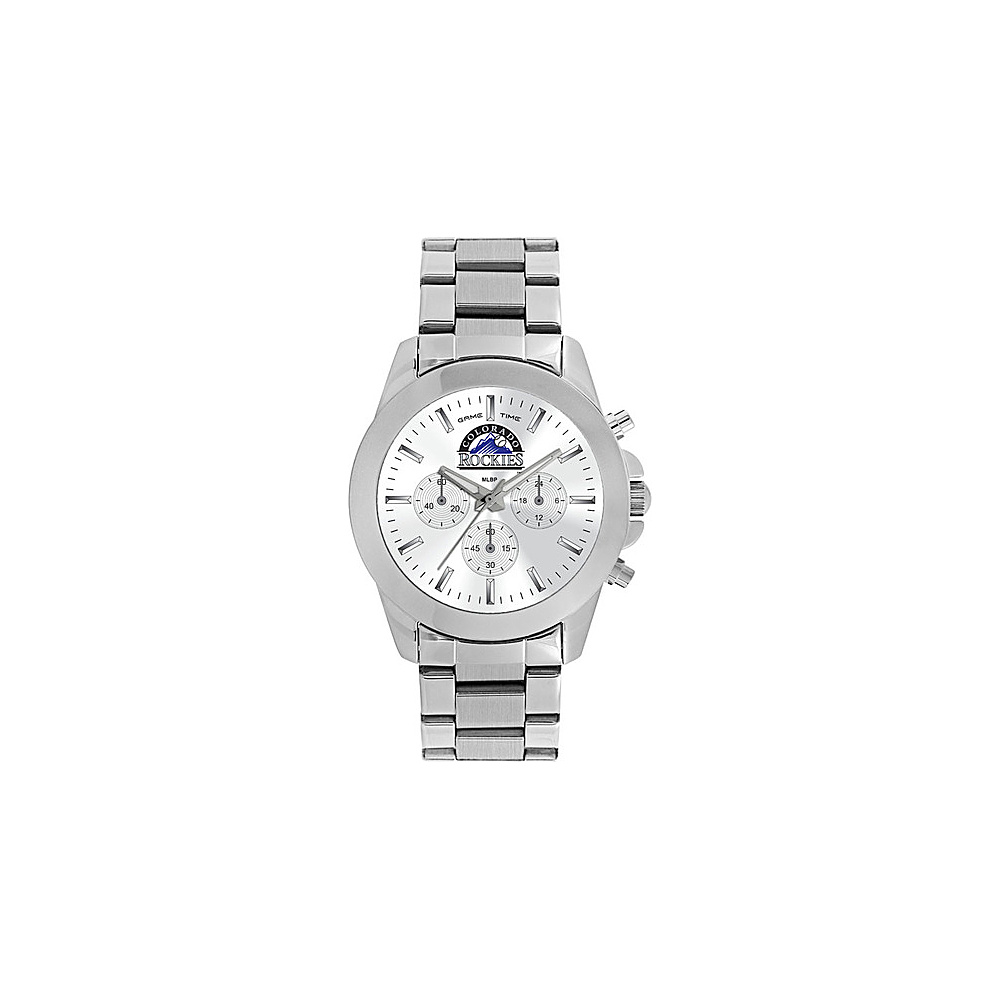 Game Time Womens Knockout-MLB Watch Colorado Rockies - Game Time Watches - Fashion Accessories, Watches