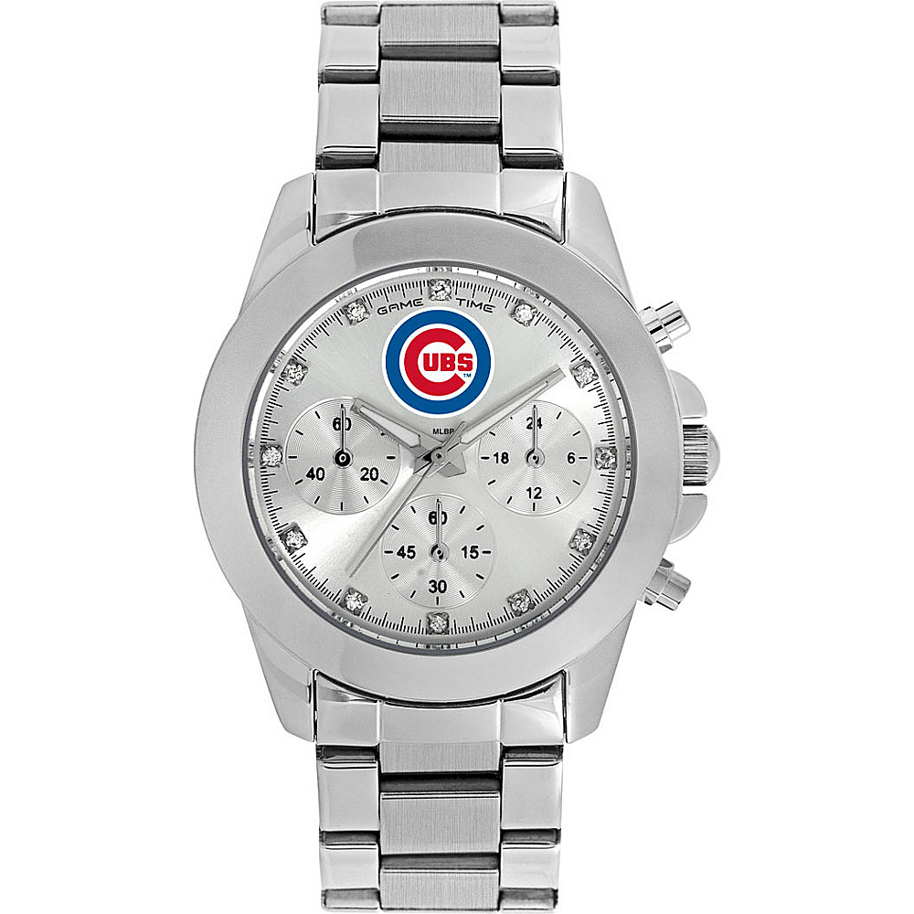 Game Time Womens Knockout-MLB Watch Chicago Cubs - Game Time Watches - Fashion Accessories, Watches