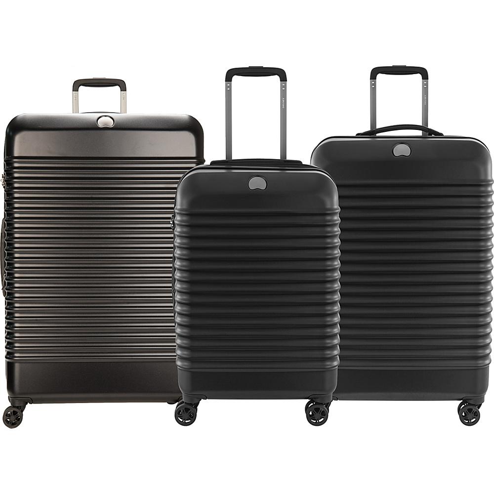 delsey bastille lite expandable 4 wheel spinner luggage luggage set new ebay. Black Bedroom Furniture Sets. Home Design Ideas