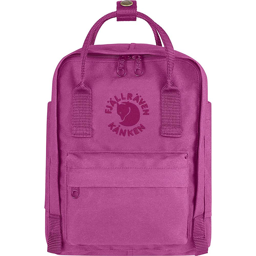 Fjallraven Re-Kanken Mini Backpack Pink Rose - Fjallraven Everyday Backpacks - Backpacks, Everyday Backpacks