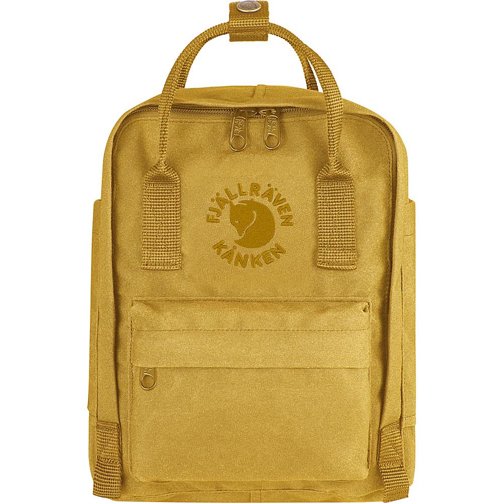 Fjallraven Re-Kanken Mini Backpack Sunflower - Fjallraven Everyday Backpacks - Backpacks, Everyday Backpacks
