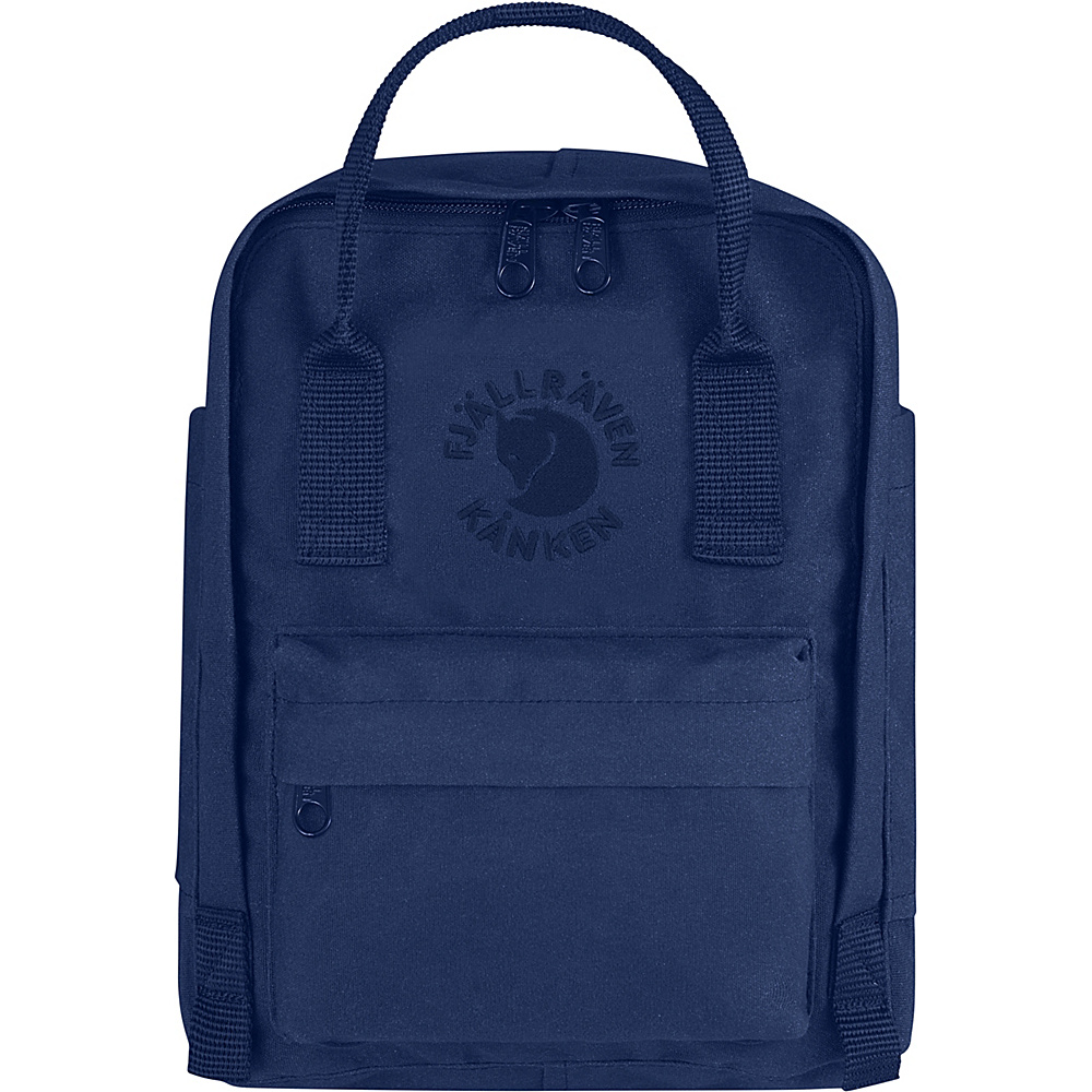 Fjallraven Re-Kanken Mini Backpack Midnight Blue - Fjallraven Everyday Backpacks - Backpacks, Everyday Backpacks