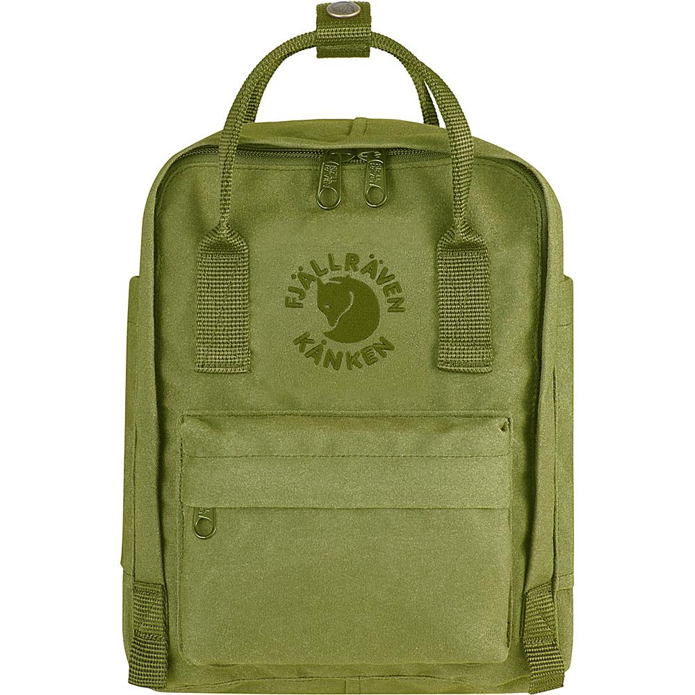Fjallraven Re-Kanken Mini Backpack Spring Green - Fjallraven Everyday Backpacks - Backpacks, Everyday Backpacks