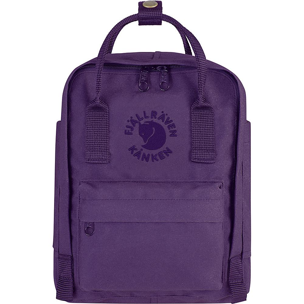 Fjallraven Re-Kanken Mini Backpack Deep Violet - Fjallraven Everyday Backpacks - Backpacks, Everyday Backpacks
