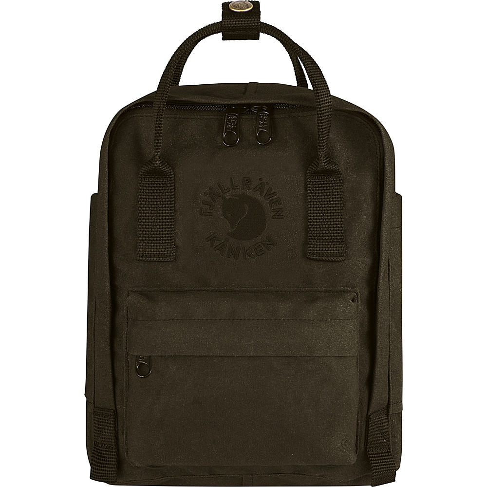 Fjallraven Re-Kanken Mini Backpack Dark Olive - Fjallraven Everyday Backpacks - Backpacks, Everyday Backpacks