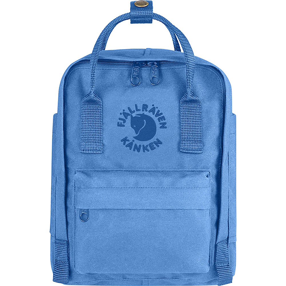Fjallraven Re-Kanken Mini Backpack UN Blue - Fjallraven Everyday Backpacks - Backpacks, Everyday Backpacks