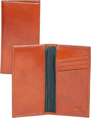 Scully Checkbook Cover Cognac - Scully Men's Wallets