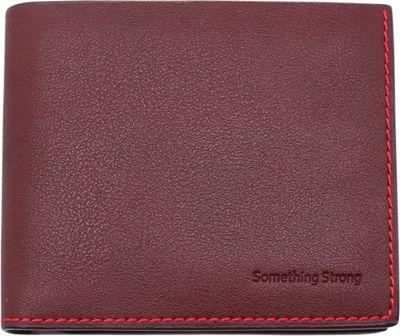Something Strong Slim Vegan Leather Wallet Brown - Something Strong Men's Wallets