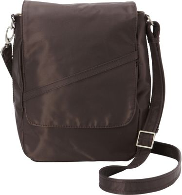 BeSafe by DayMakers RFID Large U-Shape LX Sling Espresso - BeSafe by DayMakers Fabric Handbags