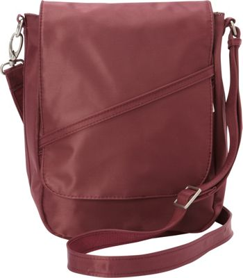 BeSafe by DayMakers RFID Large U-Shape LX Sling Wine - BeSafe by DayMakers Fabric Handbags