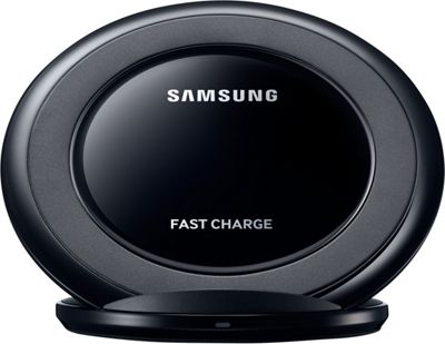 Samsung - C2 Wireless Charging Pad Stand AFC Black - Samsung - C2 Portable Batteries & Chargers