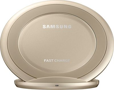 Samsung - C2 Wireless Charging Pad Stand AFC Gold - Samsung - C2 Portable Batteries & Chargers