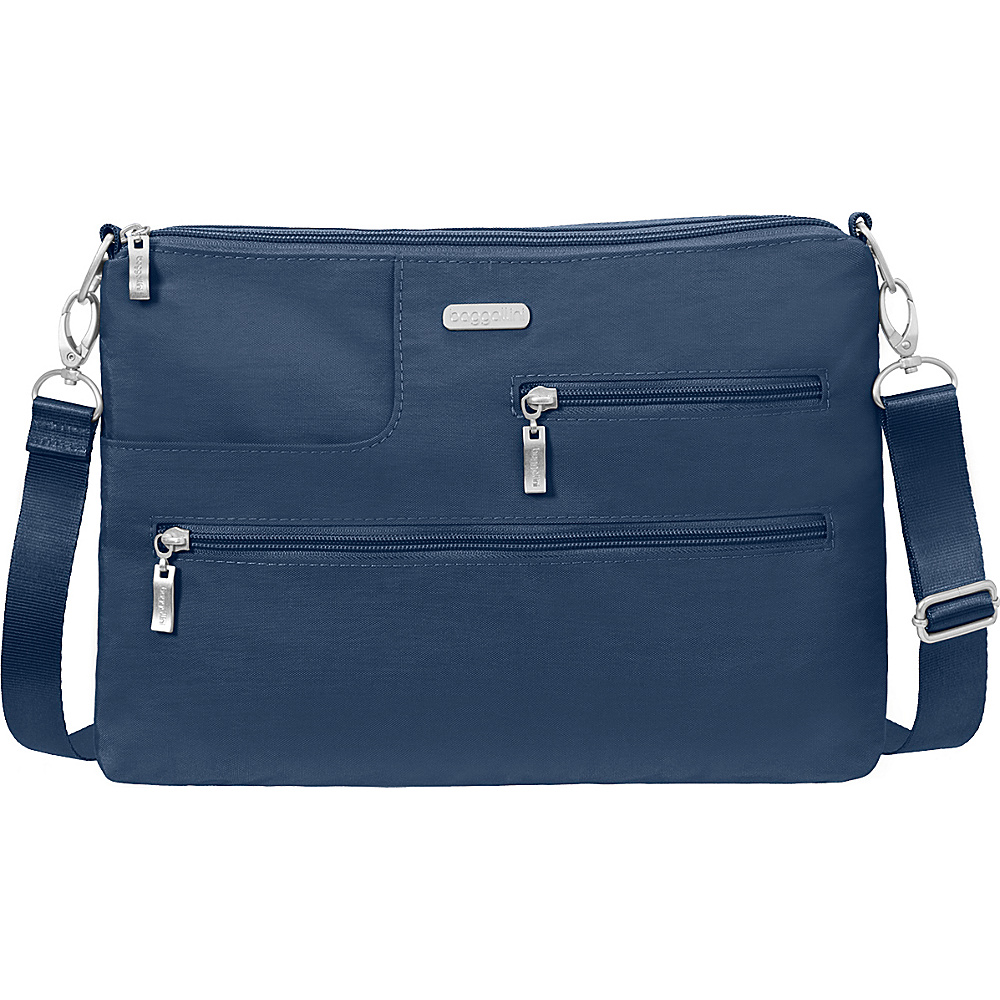 baggallini Tablet Crossbody with RFID Pacific - baggallini Fabric Handbags - Handbags, Fabric Handbags