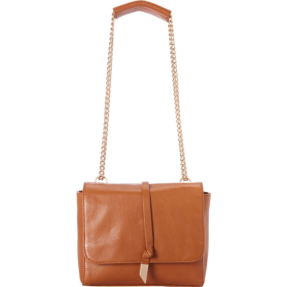 Foley Corinna Diane Shoulder Bag Honey Brown Foley Corinna Designer Handbags
